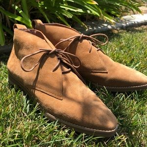 Madewell Suede Desert Boots - NWOT